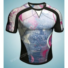 sublimation printed rugby shirts